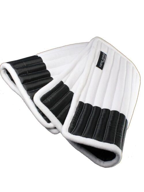 Bandage-underlag MmSoft-AirPLUS, Sort, Str. S & M