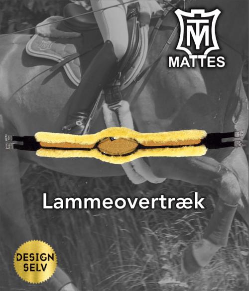 Mattes Lammeovertræk lang spring/kombi gjord (quilt)