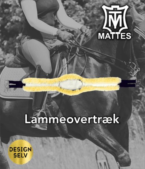 Lammeovertræk til lang spring/kombi gjord slimline (læder)