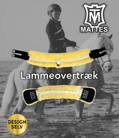 Lammeovertræk til specialgjord til små heste (slim-line model)