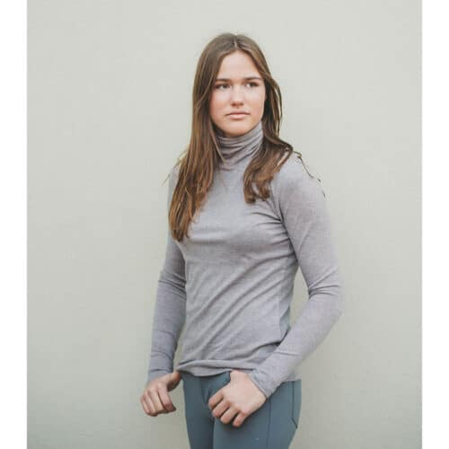 AEquipt Turtleneck Light Grey