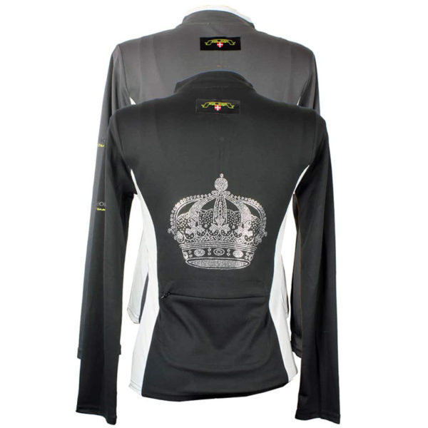 Mink Horse Crown Shirt Long Sleeve
