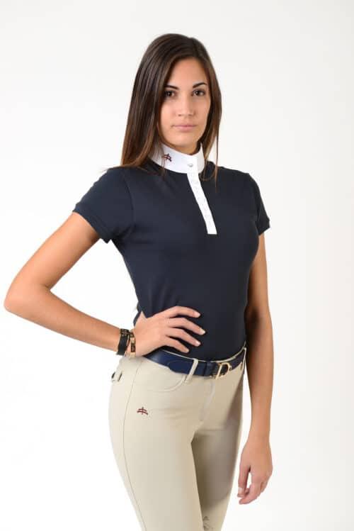 Caroline polo shirt Makebe
