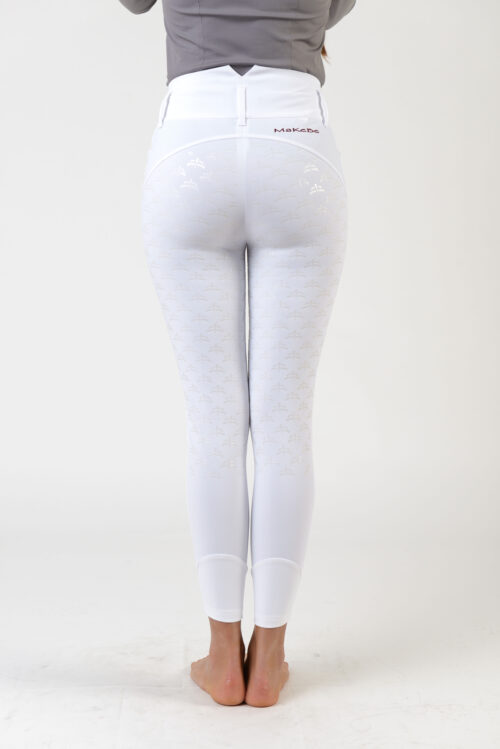 Makebe Charlotte Ridebukser Dressur Hvid
